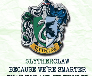 harry potter, slytherin, and slytherclaw image