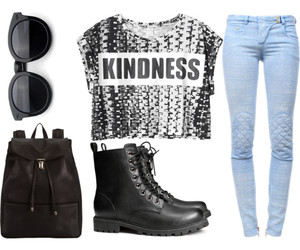 accessories, backpack, and boots image