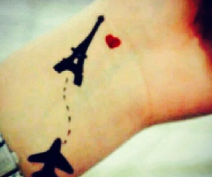 tattoo and باريس image