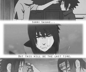 brothers, itachi, and sasuke image