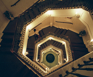 stairs, light, and photography image