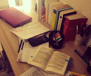 night, study, and summer image