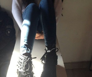 girl, grunge, and photograpy image
