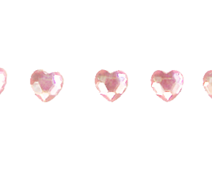hearts, pink, and stones image