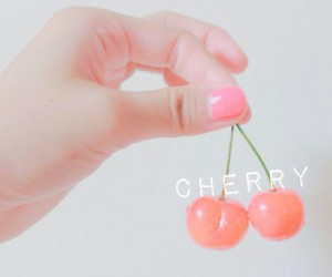 cherry, cute, and fruit image