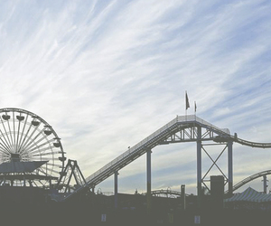 sky, indie, and Roller Coaster image