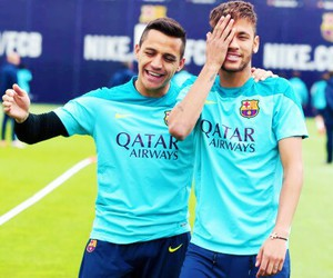 neymar, neymar jr, and alexis sanchez image