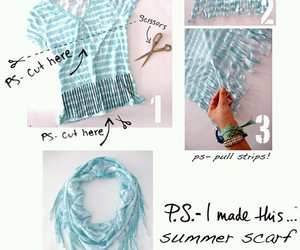 scarf, diy, and tutorial image