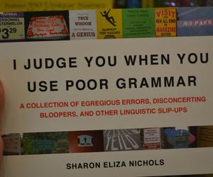 book and poor grammar image