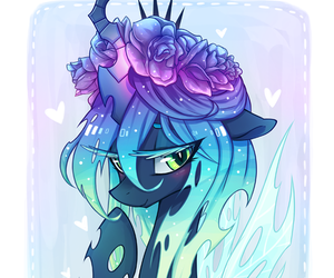 MLP, my little pony, and chrysalis image