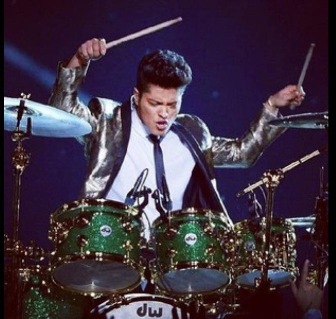 super bowl and bruno mars image