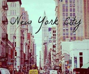 new york, city, and new york city image