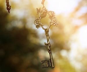 key, magic, and vintage image