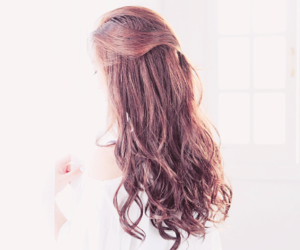 girl, ulzzang, and curly image