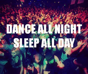 dance, party, and quote image