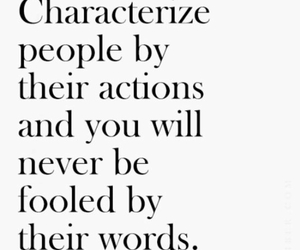people, words, and actions image