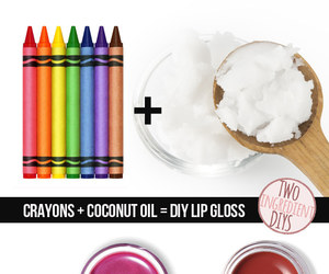 diy, lips, and crayon image