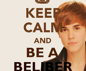 justin bieber, belieber, and keep calm image