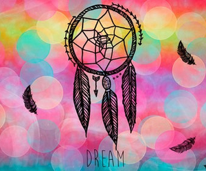 Dream, dreamcatcher, and background image