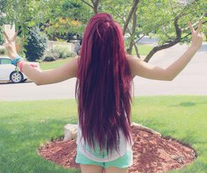 alt girl, cutie, and dyed hair image