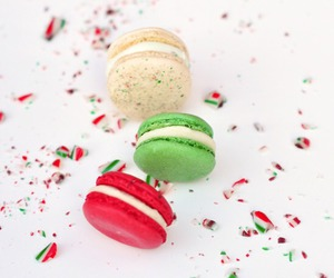macaroons, dessert, and sweet image