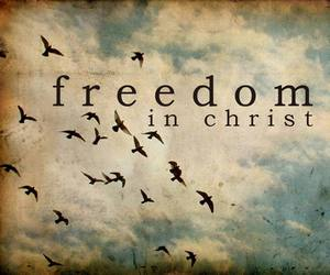 Christ, freedom, and cielo image