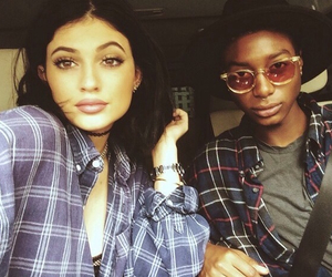 grunge, lips, and kylie jenner image