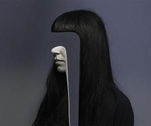 heair, girl, and hair image