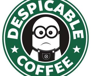 minions, coffee, and starbucks image
