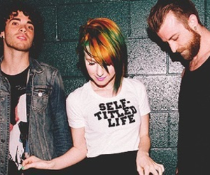 paramore, hayley williams, and jeremy image