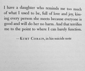 kurt cobain, nirvana, and suicide image