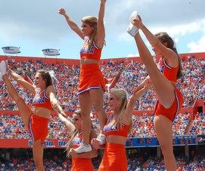 beauty, cheer, and cheerleader image