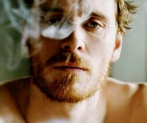 michael fassbender, boy, and smoke image