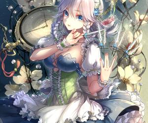 anime, anime girl, and knife image