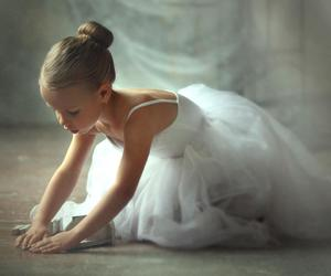 ballerina, ballet, and kids image