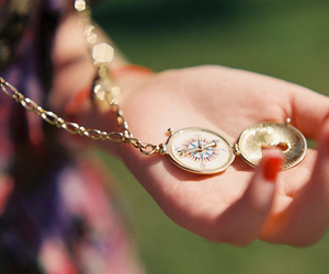compass and necklace image