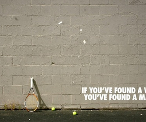 tennis, sport, and love image