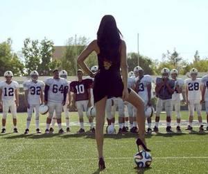 football and Adriana Lima image