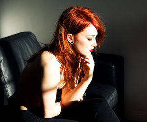 redhead and hair image