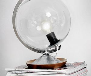 lamp, diy, and globe image