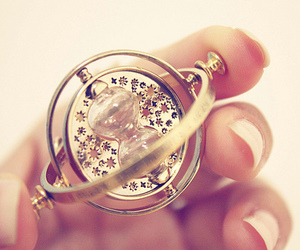 harry potter, time, and time turner image