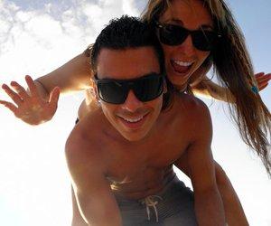 beach, fun, and smile image
