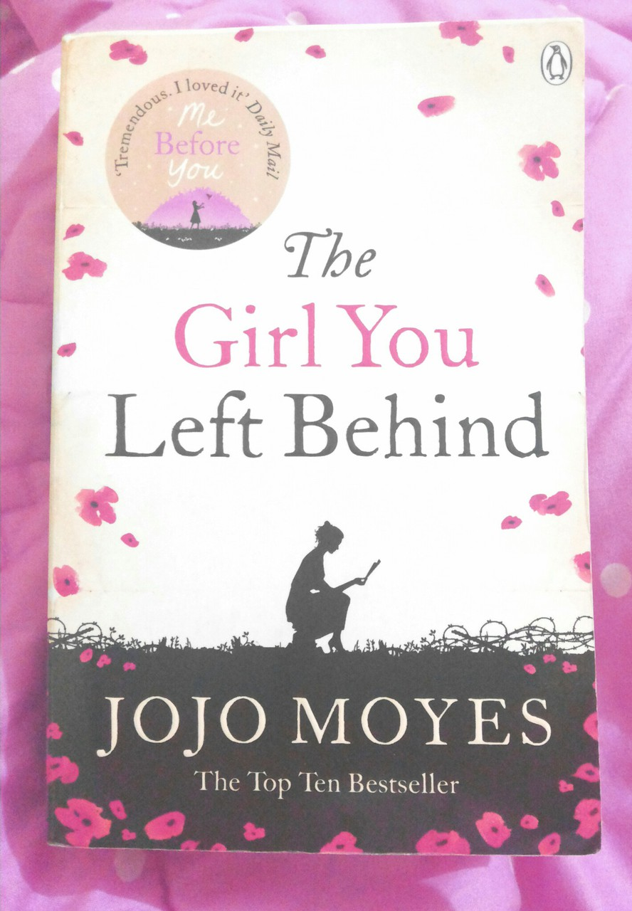 books, novel, and the girl you left behind image