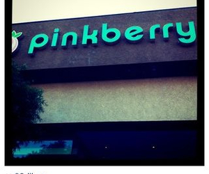 pinkberry, watermelon, and justin bieber image
