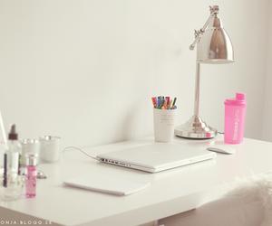 desk, inspiration, and room image