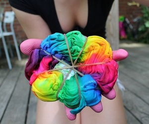 colourful and tumblr image