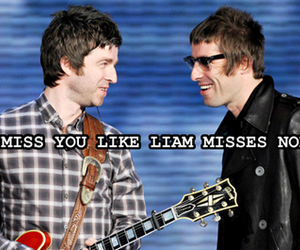 liam gallagher, noel gallagher, and liam image
