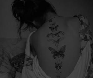 amazing, butterfly, and girl image