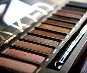 brown, girly, and cosmetics image