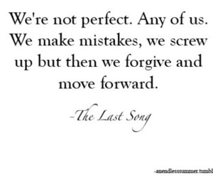 quote, forgive, and mistakes image